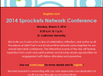 Register for 2014 Sprockets Network Conference